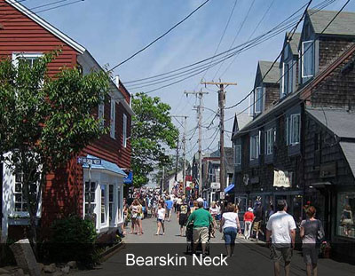 Bearskin Neck Rockport MA
