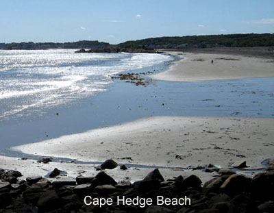Beaches in Rockport and Gloucester Massachusetts