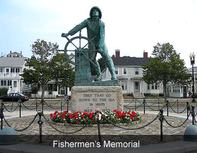Fishermens Memorial Gloucester MA