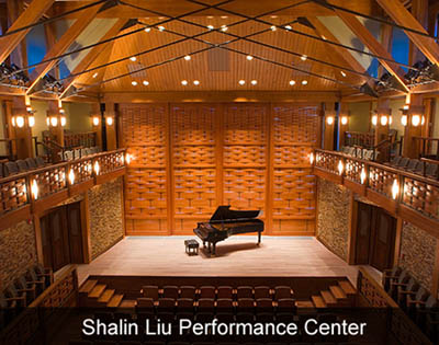 Shalin Liu Performance Center in Rockport MA