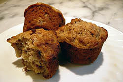 banana-honey-muffins