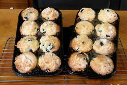 blueberry-nut-muffins