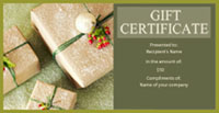 Purchase a Gift Certficate our Cape Ann Inn - The Tuck Inn.