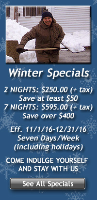 Seasonal Specials for Accommodations